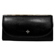 Dámská velká černá peněženka MILANO DESIGN SF1833
