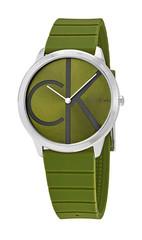 Hodinky Calvin Klein Zelené K3M21B