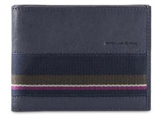 Peněženka Piquadro Modrá PU1241B3SR