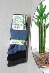 Pesail ponožky bambusové tmavě modré, modré, černé