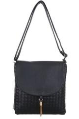 Dámská kabelka malá černá crossbody TA-C248-black