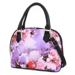 Jerry Firenze dámská kabelka květinová fialová