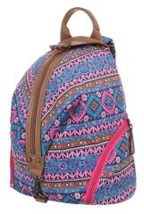Jerry Firenze dámský a dívčí fialový látkový batoh