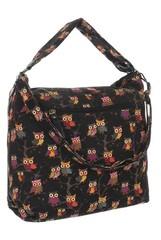 Jerry Firenze dámská textilní taška se zipem TA-18220-blackowls