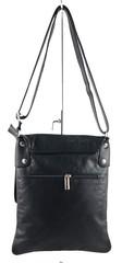 Vera Pelle dámská kabelka kožená černá