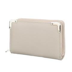 Galanto peněženka dámská šedá s ozdobnými rohy