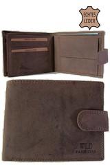 Pánská kožená peněženka Wild Fashions hnědá