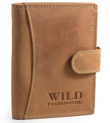 Pánská Kožená Peněženka Wild Fashion