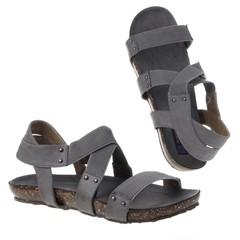 Dámské a dívčí sandály šedé Jumelles