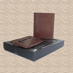 Marc Chantal dárkové balení kožené peněžeky a klíčenky