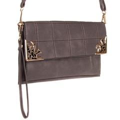 Galanto dámská kabelka přes rameno crossbody šedá