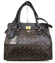 Giulia Pieralli černá dámská luxusní italská značková kabelka 28630