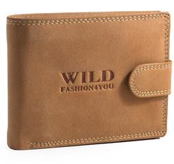 WILD FASHION4U pánská kožená peněženka WF305L-NAT