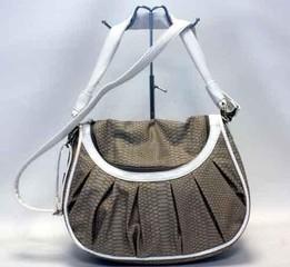 Marc Chantal dámská kabelka šedá s hadím vzorem