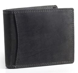 Pánská kožená peněženka Wild Fashion4u MTH5600-BL