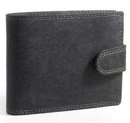 Pánská kožená peněženka Wild Fashion4u MTH305L-BL