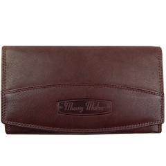 Dámská kožená peněženka Money Maker 12131-braun