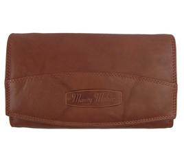 Dámská kožená peněženka Money Maker 12131-rust