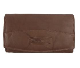 Dámská kožená peněženka Money Maker 12131-tan