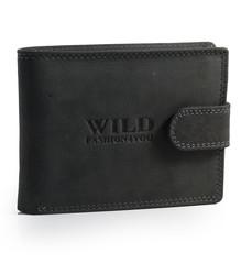 WILD FASHION4U pánská kožená peněženka WF5700L-BL