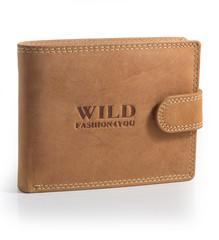 WILD FASHION4U pánská kožená peněženka WF5700L-NAT