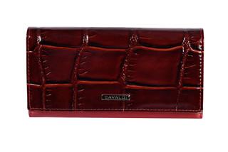Cavaldi Dámská velká červená peněženka PN27-KR