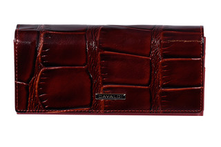 Cavaldi Dámská velká červená peněženka PN24-KR