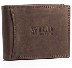 WILD FASHION4U pánská kožená peněženka WF5600-BR