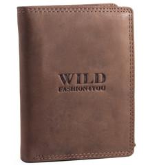 WILD FASHION4U pánská kožená peněženka WF306-BR
