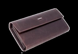 Dámská kožená peněženka Loren 72401-BROWN
