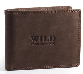 WILD FASHION4U pánská kožená peněženka WF5700-BR