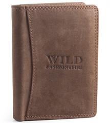 Pánská Kožená Peněženka Hnědá Wild Fashion4u WF5500-BR