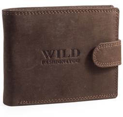 WILD FASHION4U pánská kožená peněženka WF305L-BR