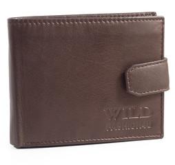 WILD FASHION4U pánská kožená peněženka G1012-BR
