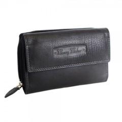 Dámská kožená peněženka Money Maker 12136B ČERNÁ