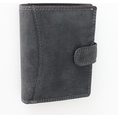 Pánská kožená peněženka Wild Fashion4u MTH5500L-BL