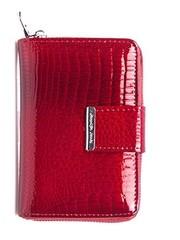 Luxusní Kožená Dámská Peněženka Červená Jennifer Jones 5198