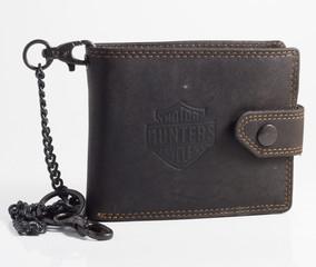 Pánská kožená peněženka BI-FOLD310-ČERNÁ