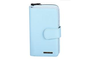 Lorenti Dámská kožená peněženka velká italská modrá 76116-L.BLUE