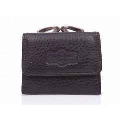 Dámská kožená peněženka Jennifer Jones malá 5258-BLACK