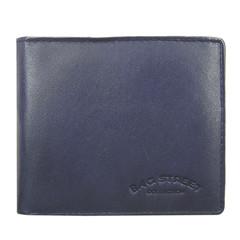 Pánská kožená peněženka Bag Street modrá 167C