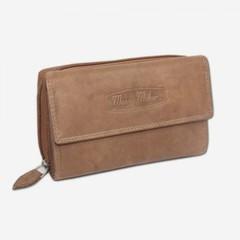 Dámská kožená peněženka Money Maker 12136B PŘÍRODNÍ