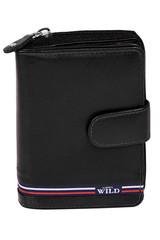 Kožená peněženka černá WILD ALWAYS N503-GV-BLACK