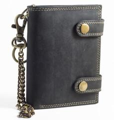 Pánská kožená peněženka BI-FOLD501-ČERNÁ