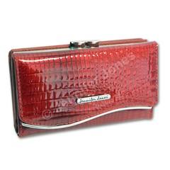 Jennifer Jones Dámská peněženka Kožená Červená 5245-2 RED
