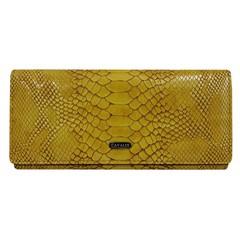 Dámská kožená peněženka žlutá Cavaldi GD27-4