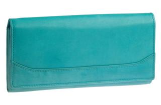 Dámská kožená peněženka 301-T.blue