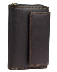 Dámská kožená peněženka hnědá RB03