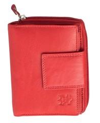 Dámská kožená peněženka 1922-RED