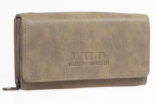 Dámská kožená peněženka Wild THINGS ONLY - HNĚDA